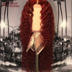 Wiccawigs Customized Lace Front Wigs Virgin Hair Glueless Full Lace Wigs with Pre Plucked Hairline